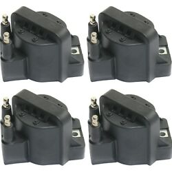 Ignition Coil For 94-2003 Chevrolet S10 2000-2005 Impala Set Of 4