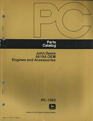 John Deere 6619a Oem Engines And Accessories Parts Catalog