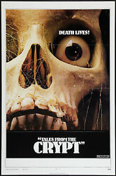 Tales From The Crypt Orig 1972 Advance Movie Poster Joan Collins/peter Cushing