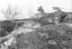 Ww2 Photo Wwii Us Army M36 Tank Destroyer Dug In Fighting Position / 3068
