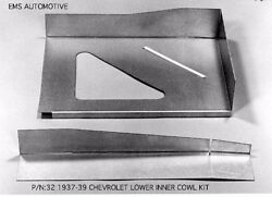 Chevrolet Chevy Car Inner Front Cowl All Models Right 1937-1939 32r Ems