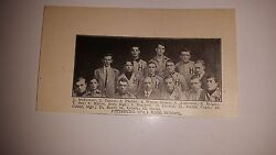 Pittsburgh High School Franklin And Marshall Academy 1911 Baseball Team Picture