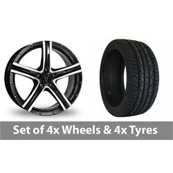 4 X 20 Wolfrace Quinto Suv Alloy Wheel Rims And Tyres - 295/40/20