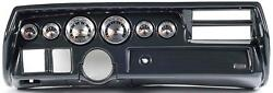 70-72 Chevelle Sweep Carbon Dash Carrier W/ Auto Meter American Muscle Gauges