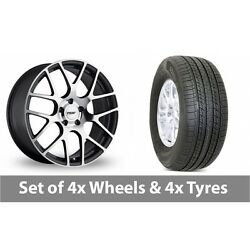 4 X 19 Tsw Nurburgring Forged Alloy Wheel Rims And Tyres - 255/50/19