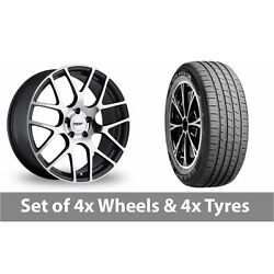 4 X 19 Tsw Nurburgring Forged Alloy Wheel Rims And Tyres - 255/55/19