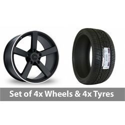 4 X 18 Fox Racing Ms003 Alloy Wheel Rims And Tyres - 235/65/18