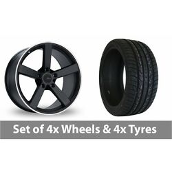 4 X 20 Fox Racing Ms003 Alloy Wheel Rims And Tyres - 295/40/20