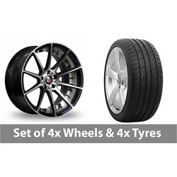 4 X 20 Axe Ex16 Polished Alloy Wheel Rims And Tyres - 265/30/20