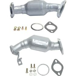 New Set Of 2 Catalytic Converters For 09-15 Traverse 07-15 Acadia 08-15 Enclave