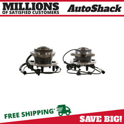 Front Wheel Hub Bearing Assembly Pair 2 For 2002-2007 Jeep Liberty 2.8l 3.7l V6