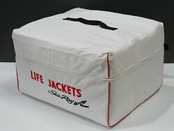New Life Jacket Bag For Preserver Vest Boat Accessory Storage Holds 6 Ak1 Type
