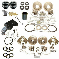 1966-1975 Early Ford Bronco 4 Wheel Power Disc Brake Conversion Kit 9 Booster
