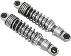 Drag Specialties Chrome 11 Rear Motorcycle Shocks 91-17 Harley Dyna Fxd Fxdwg