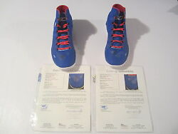 Stephen Curry Warriors Signed Autographed Pair Basketball Shoes Jsa Coa