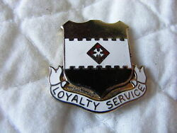 1st Military Police Di Crest Insignia Medal Badge  A
