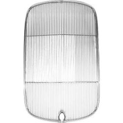 Ford Stainless Steel Radiator Grill / Grille Insert With Crank Hole 1932