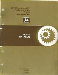 John Deere 4276d And 4276t Oem Engine And Accessories Parts Catalog