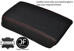 Red Stitch Fits Acura Integra 1994-2001 Armrest Consol Lid Cover Real Leather