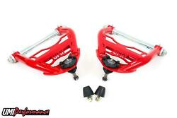 Umi Performance 64-72 Gm A-body Chevelle Upper Front Control Arm Pair - Red