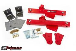 Umi 79-93 Ford Mustang Strip Grip Kit Lift Bars And Lower Arm Reinforcements 1