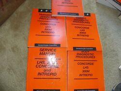 2000 Concorde LHS 300M Intrepid  Service Manuals