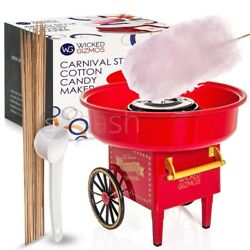 Candy Floss Machine Flavoured Sugar Cotton Wool Home Maker Sweet Present Gift Uk