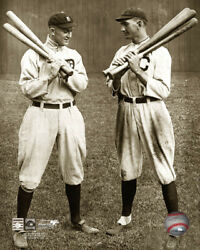 Ty Cobb And Shoeless Joe Jackson Chicago White Sox Framed Photo Picture 2284