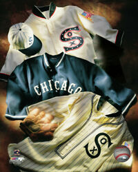 Mlb Baseball Cooperstown Collage Chicago White Sox Framed Photo Picture 2303