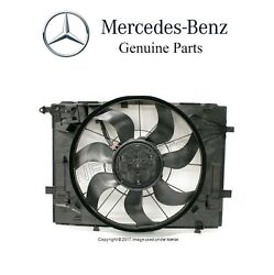 For Mercedes W205 C400 C205 S205 A205 Turbo Auxiliary Fan Assembly Blower Oes