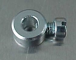 Hot Rat Rod Tri-power Carb Linkage-rod Stop 3/16 Cl-52-b Holley Ford 94