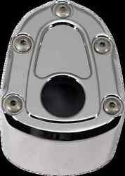 Carl Brouhard Chrome Bomber Ignition Switch Cover 07-13 Harley Touring Flhx Flht