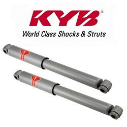 For Dodge W Series Plymouth 4WD Pair Set of 2 Front Shocks KYB Gas-a-Just KG5422