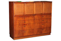 1960and039s Double Built Chest Of Drawers