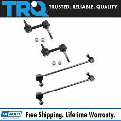Trq 4 Piece Kit Stabilizer Sway Bar End Link Front Rear Lh Rh For Ford Mazda