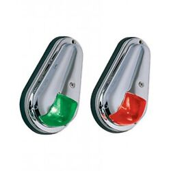 Perko Side Lights Red And Green Chrome Plated Brass