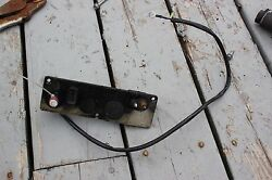 1990 And039s 6 Hp Yamaha 2 Stroke Outboard Front Panel Kill Switch