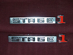 73 74 75 Buick Gs Stage 1 Close Pin Emblems New 1973 1974 1975 Gran Sport Badge