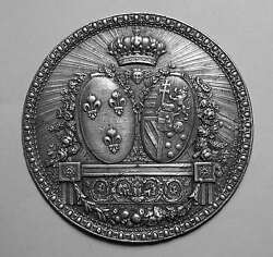 Marie Antoinette Silver Royal Crest By Lorthior