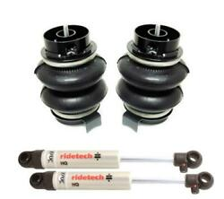 Ridetech 00-05 Chevy Tahoe Rear Coolride Air Bags And Shocks 11414010
