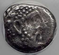 Arados In Phoenicia King Gerashtart 340bc Silver Stater Greek Coin Ngc I59869