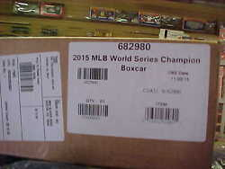 Lionel 829802015 Major League Baseball World Champion Boxcar Kc