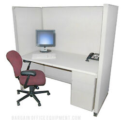 30x60 X 67 H Herman Miller Medium Wall Center Cubicle With Fabric And Paint Choice
