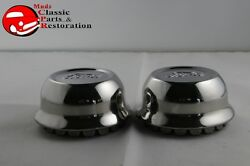 1928 1929 Ford Model A Stainless Steel Hub Caps Ford Script Official Licensed