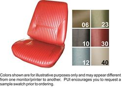 1969 Oldsmobile Cutlass Holiday / S Front And Rear Seat Covers - Pui