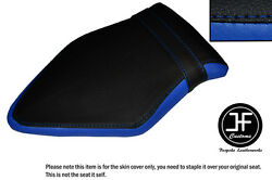 Royal Blue And Black Vinyl Custom Fits Bmw S 1000 R 2014-16 Naked Rear Seat Cover
