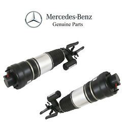 For Mercedes W211 E320 Pair Set of 2 Front Air Suspension Strut Assemblies OES