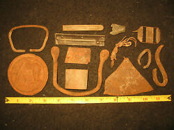 Dug Relics From Keokuk Oklahoma, Excavated Historical Artifacts, Ghost Town