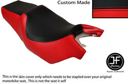 Black And Red Vinyl Custom Fits Cagiva Roadster 125 Dual Seat Cover Only