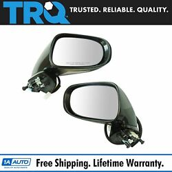 Trq Exterior Power Heated Turn Signal Memory W/ Puddle Mirror Pair For Lexus
